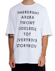 Bleach Oversized White Tee Front