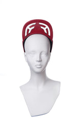 Skater Hat Labrynth Red