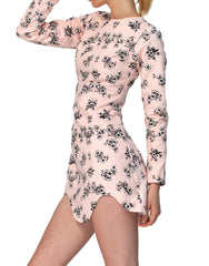 State of Georgia Cult Movement Dress Jewel Flower Pale Pink