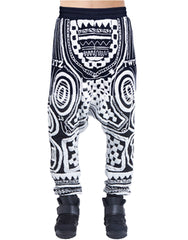 KTZ Tattoo Towelling Harem Pants