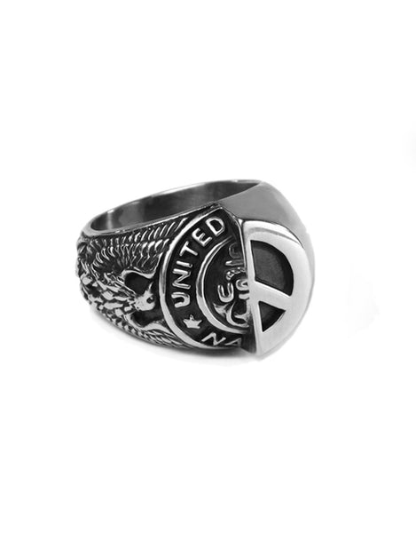 Beneath The Roses War & Peace Ring