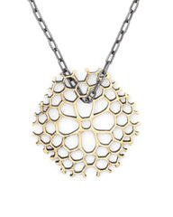 eleven44 Coral Pendant with Chain - Womens necklace