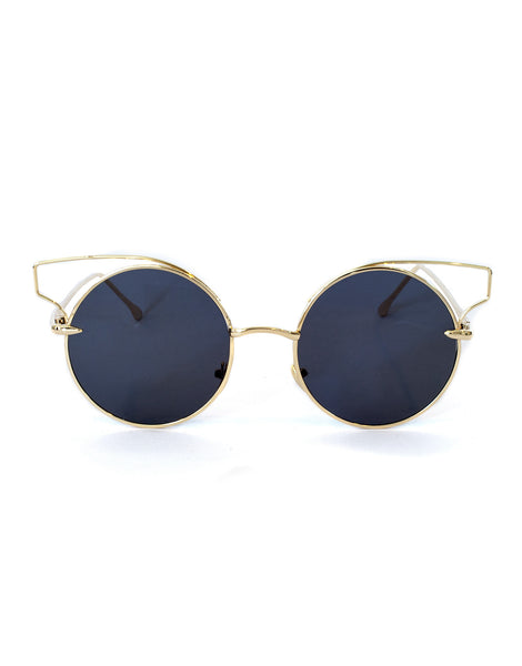 Eighty6 KIT Black & Gold Sunglasses