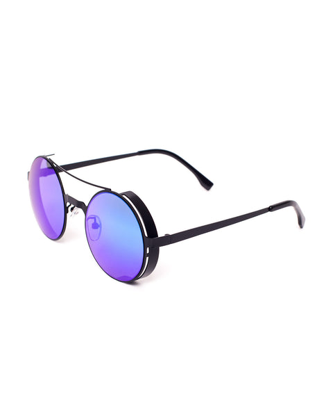Eighty6 Robo Black Sunglasses