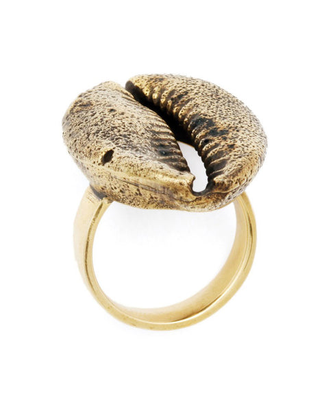 eleven44 Cowrie Shell Ring
