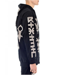 KTZ Embro Metallic Jewel Patch Hoodie Jacket Side