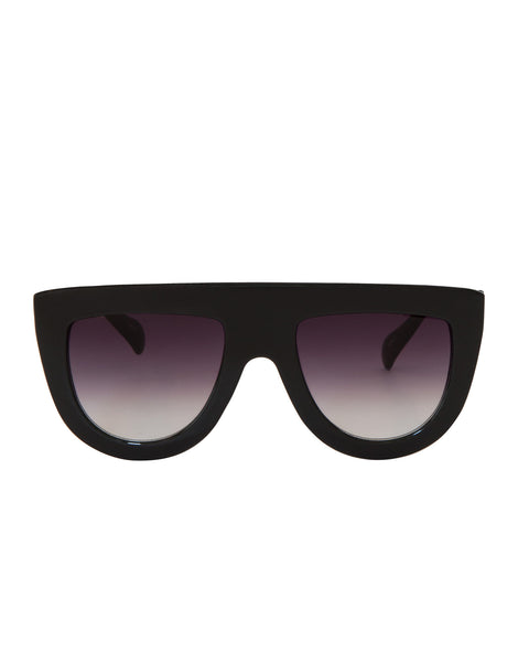 EIGHTY6 Troppo Black Sunglasses
