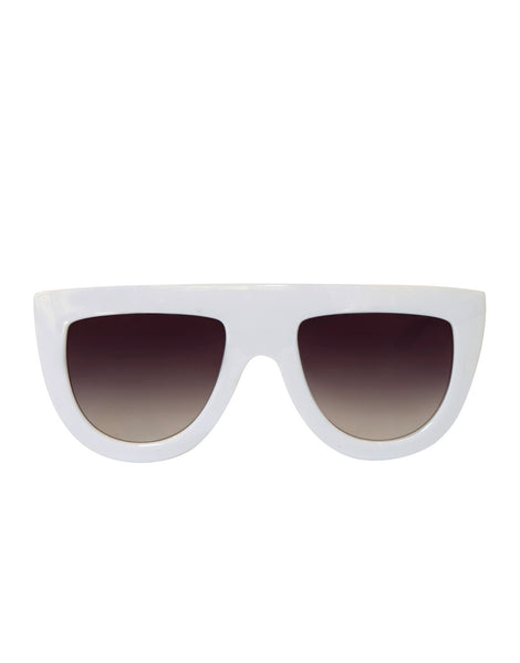 EIGHTY6 Troppo White Sunglasses