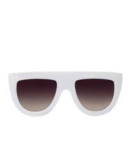 EIGHTY6 Troppo White Sunglasses Main