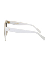 EIGHTY6 Troppo White Sunglasses Side