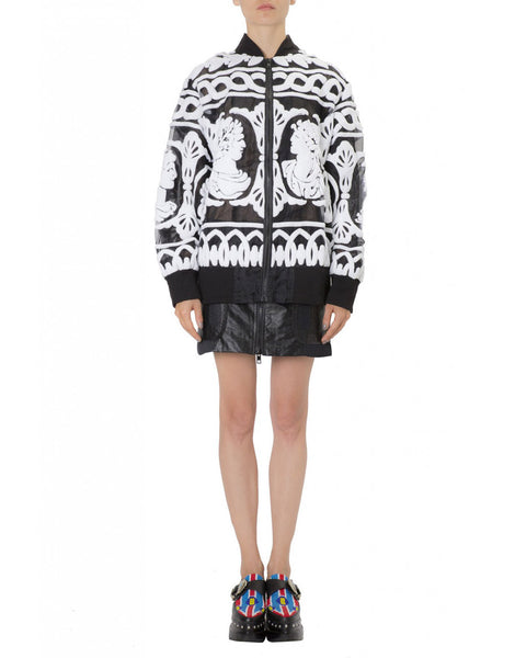 KTZ Women Big Bomber Jacket Artwork