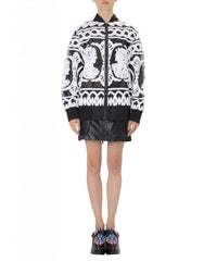 KTZ Women Big Bomber Jacket Artwork Front
