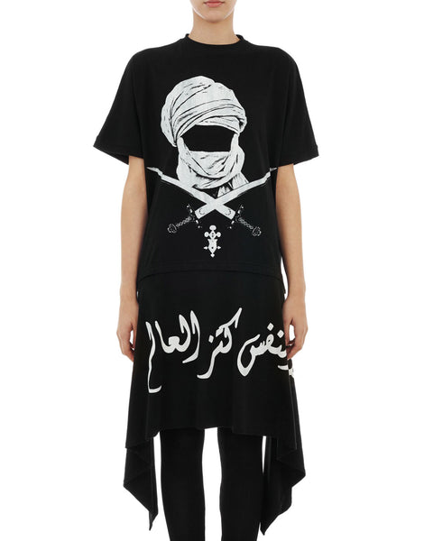 KTZ Womens Mask Sword Apron Tee