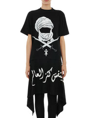 KTZ Womens Mask Sword Apron Tee Front