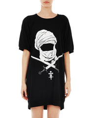 KTZ Womens Mask Sword T-Shirt Front