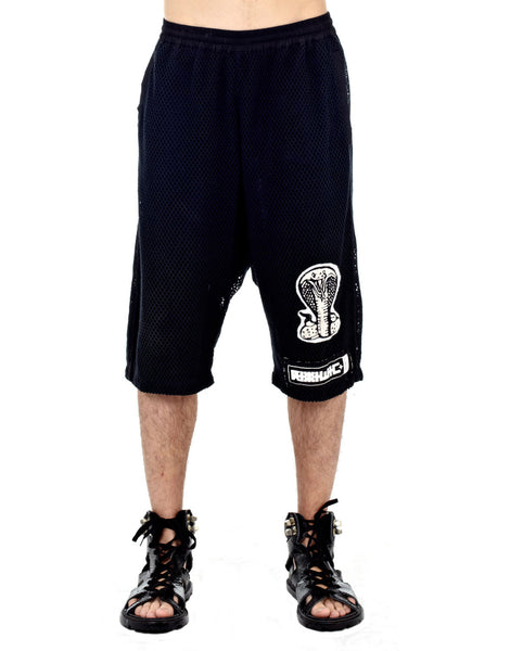 KTZ Cobra Net Layered Shorts Black