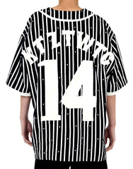 KTZ Baseball Jersey Short Back