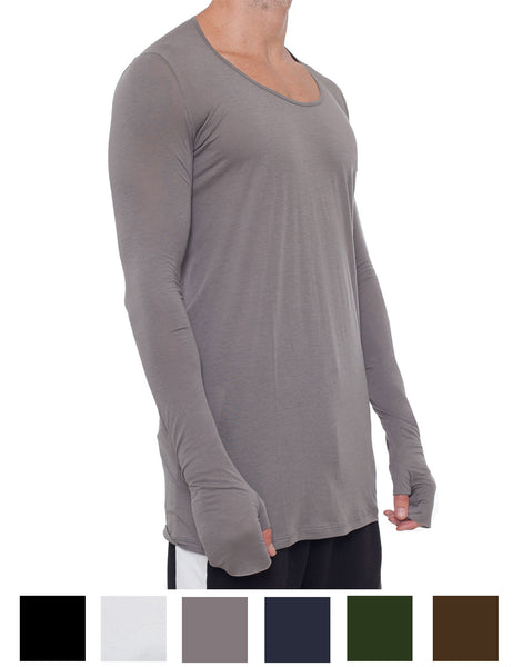 APRIY Fine Long Sleeved Tee