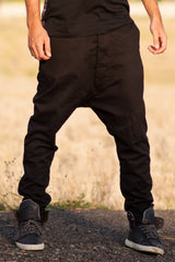 Nemis Black Drop Pants