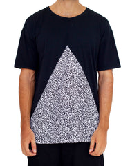 Nemis Stickman Cutout Tee Black