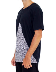Nemis Stickman Cutout Tee Black Side