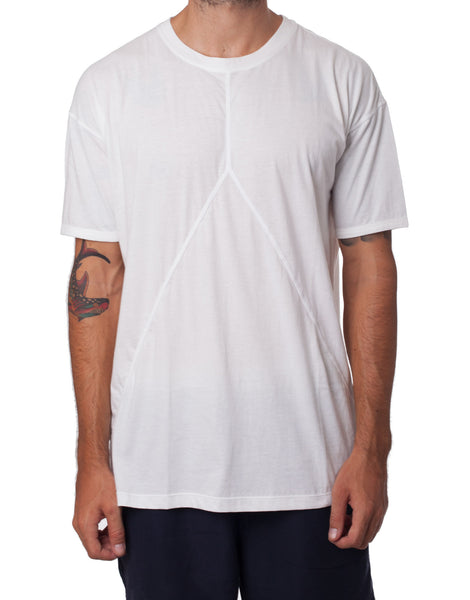 Nemis All White Cutout Tee