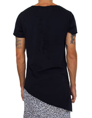 Nemis Asymmetric Lightning Tee Black