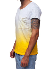 Nemis Bottom-Up Tee Yellow