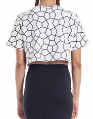 Nemis Women Octa Crop Top Back