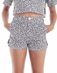 Nemis Women Stickman Panel Shorts Front