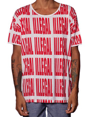 EGR Illegal Tee Red
