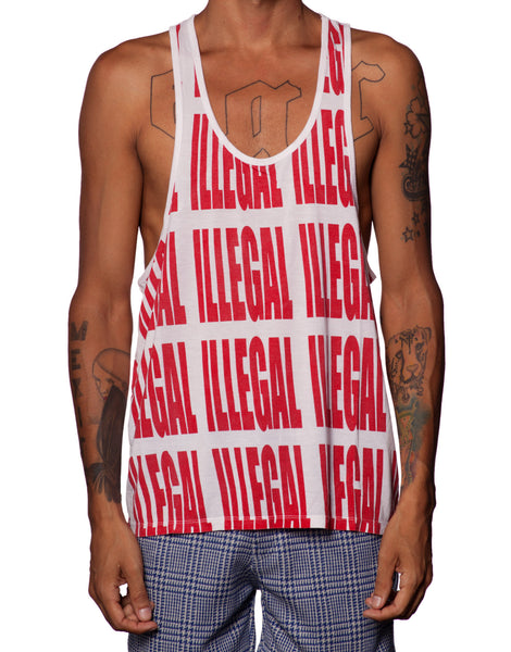 EGR Illegal Singlet Red