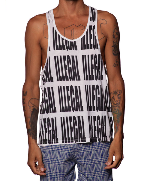 EGR Illegal Singlet Black
