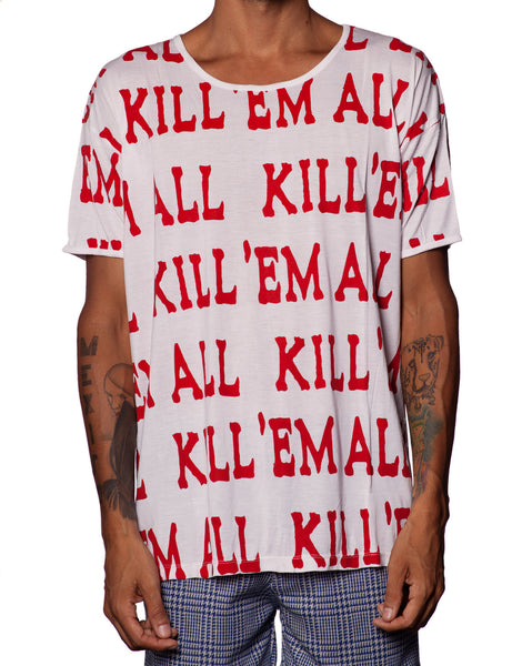 EGR Kill Em All Tee Red