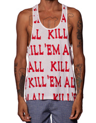 EGR Kill Em All Singlet Red
