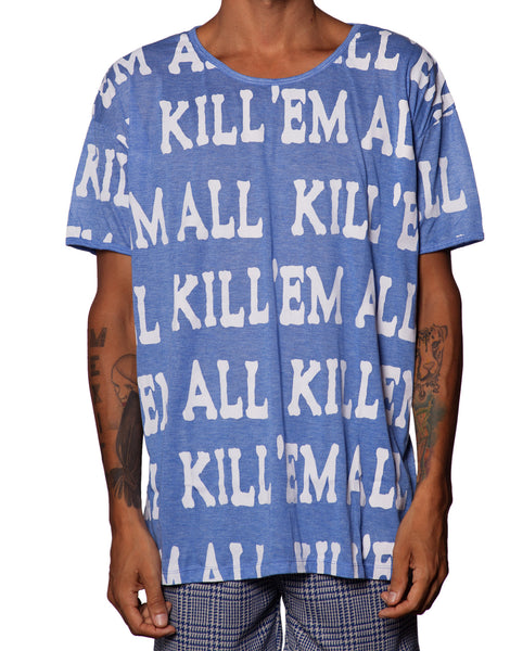 EGR Kill Em All Tee Blue