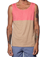 FRANKSLAND Jess Tank - Color Block Mens Tank