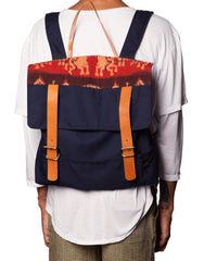 FRANKSLAND Ikat Backpack