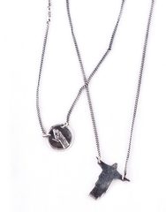 Johnny Ramli Silver Alexa ESP Necklace - Mens Necklace