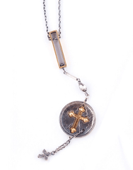 Johnny Ramli Jewelry Christian Cross Necklace - Mens Necklace