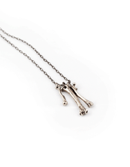 Beneath The Roses Small Bones Necklace - Mens Necklace - Fashion Accessories
