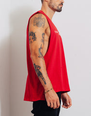 Bleach Project BUZZ Muscle Tee Red Side