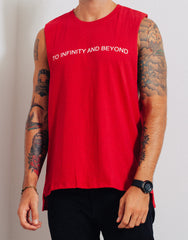 Bleach Project BUZZ Muscle Tee Red Print