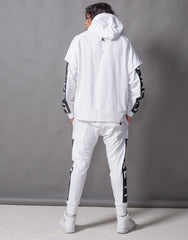 Fake It Skinny Joggers White Back