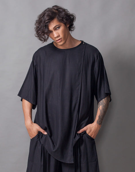 Bleach Midnight Double Layers Oversize Top