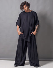 Bleach Project Midnight Double Layers Oversize Top Outfti