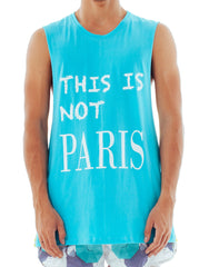 Bleach Two Tone Not Paris Tank