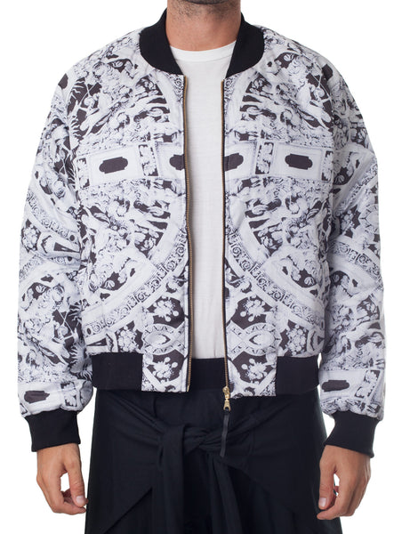Bleach Deco Bomber Jacket