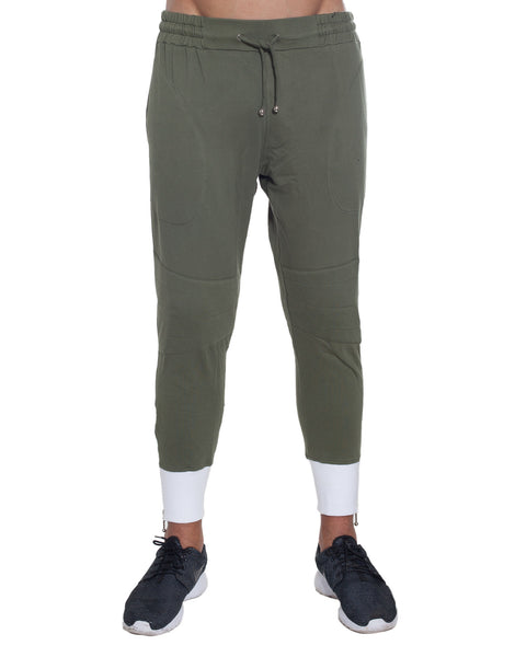 Bleach Project Army of Me Skinny Jogger Green