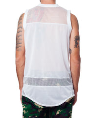 Bleach Basketball Jersey White